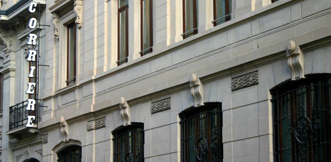 Esposto al Procuratore della Repubblica Presso l'On.le Tribunale di Milano riguardo un'inchiesta per usura sulla cessione della sede storica del Corriere della Sera